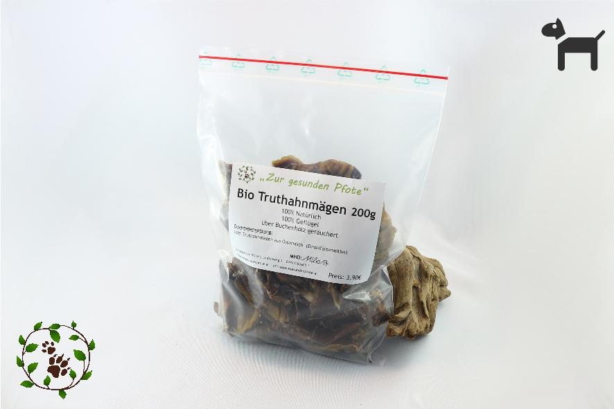 Bio - Truthahnmägen - der gesunde Snack zwischendurch