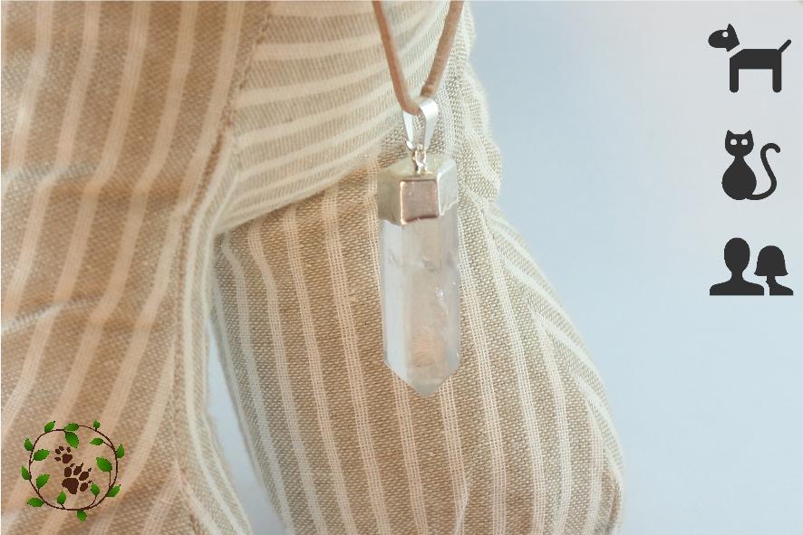 Bergkristall Anhänger für Halsbänder und Kettchen