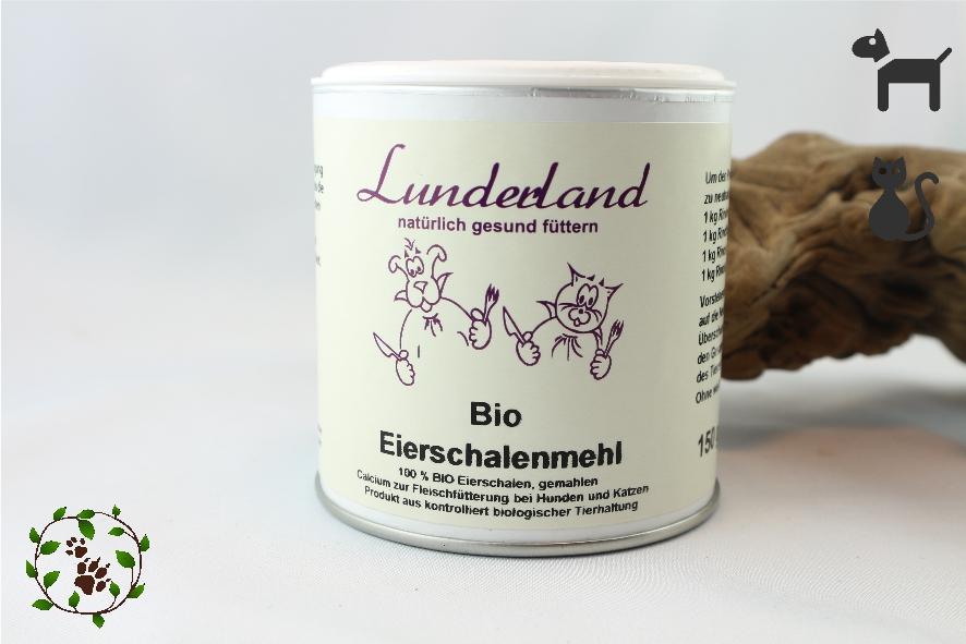 BIO Eierschalenmehl - für eine optimale Calcium Versorgung