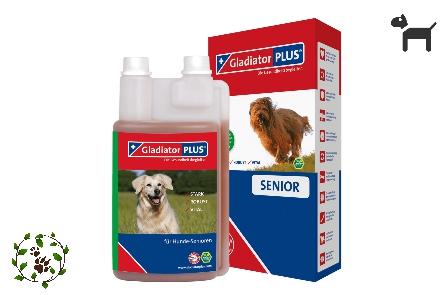 Gladiator plus für Hunde - Senior