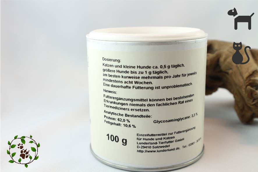 Grünlippmuschelpulver - gesunder Aufbau der Knorpel und Gelenke