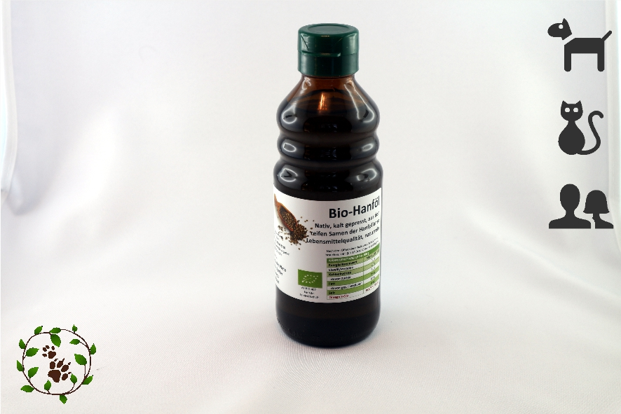 Bio Hanföl in Lebensmittelqualität