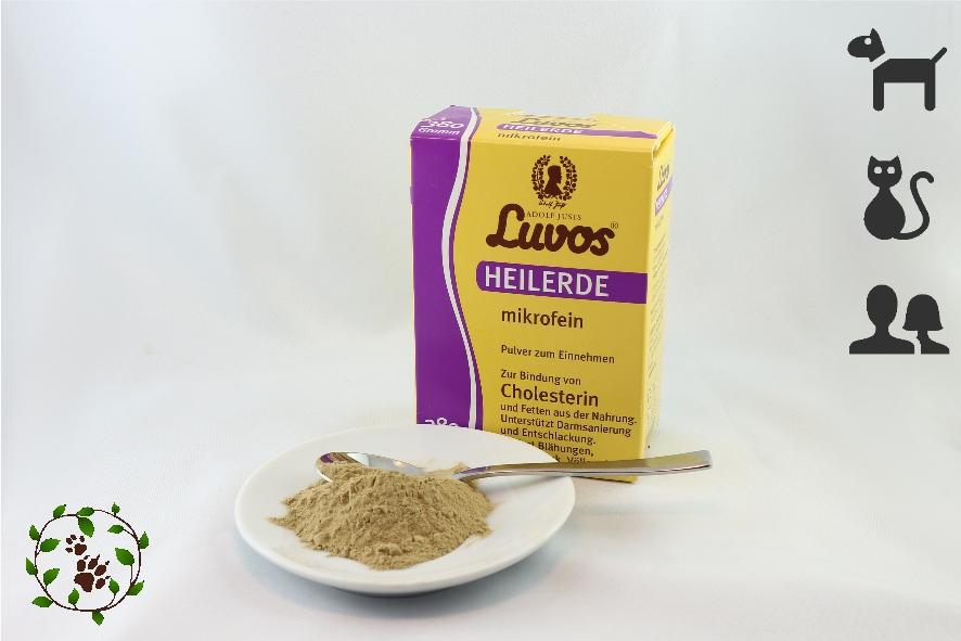 Heilerde mikrofein - bestens für Katzen geeignet