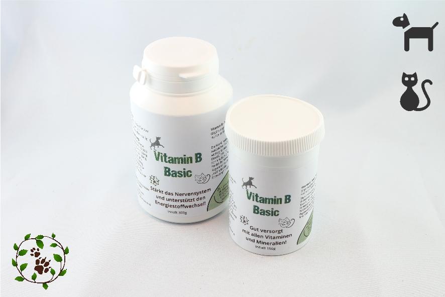 Vitamin B Basic - B-Vitamine für nervöse und gestresste Hunde