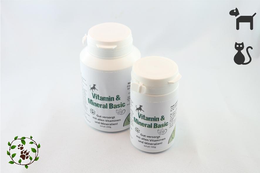 Vitamin & Mineral Basic - Alle wichtigen Vitamine und Mineralien für Hunde