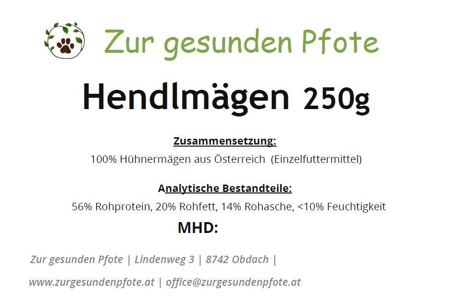 Hendlmägen aus Österreich