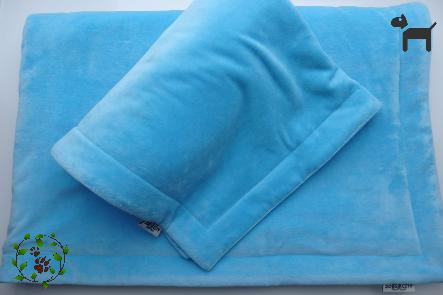 Hundedecke Nicki - hellblau
