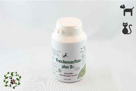 Knochenaufbau - plus Vitamin D³ - Gesundes Knochenwachstum